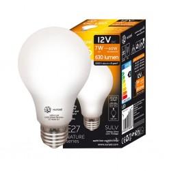 Lámpara LED 24V CC 7W 4000K E27 630lm LED NATURE XUNZEL