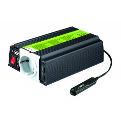 Inversor de onda modificada 150W 12V MJ XUNZEL con USB y cables