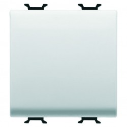 Conmutador modelo Chorus color blanco 2 modulos