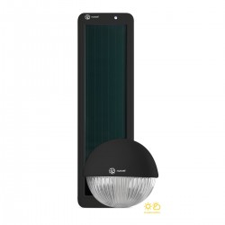 Kit solar de iluminación LED para colgar SOLARMOON NEGRO XUNZEL