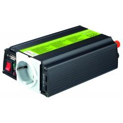 Inversor de onda modificada 300W 12V MJ XUNZEL con USB y cables