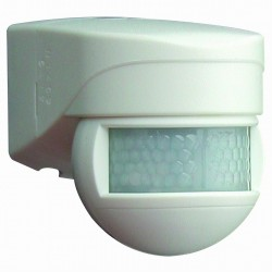 Detector de movimiento para exterior LUXOMAT LC-Mini 180 Blanco BEG