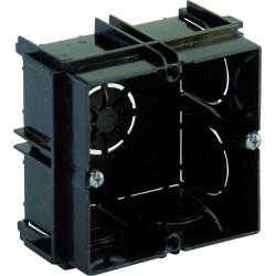 Caja CUADRADA de empotrar en pared para chasis de 2 modulos