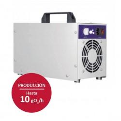 Cañón generador de ozono portátil
