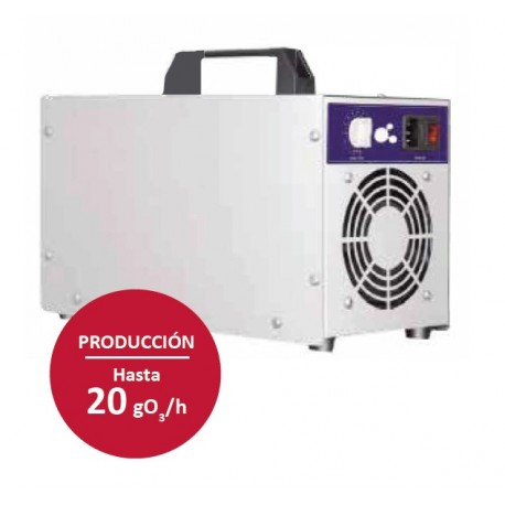 Cañón generador de ozono portátil 20