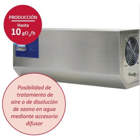 Cañón generador de ozono portátil 10