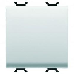 Conmutador de cruce modelo Chorus color blanco 2 modulos