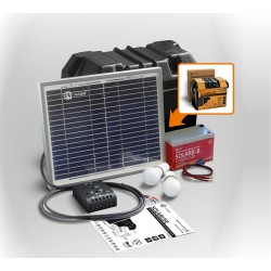 Kit SOLARLIFE i 10 XUNZEL Iluminación LED 520lm