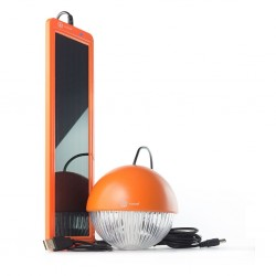 Kit solar de iluminación LED para colgar SOLARMOON ORANGE XUNZEL
