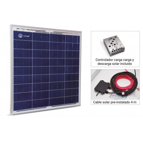 Kit Solar SOLARCRUISE 60W XUNZEL Todo Incluido