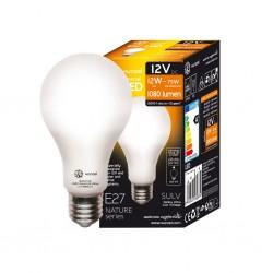 Bombillas LED 12V CC 12W 4000K E27 1080lm LED NATURE XUNZEL