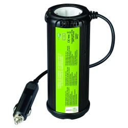 Inversor de onda modificada 150W 12V ciclíndrica MJ XUNZEL con USB y cables