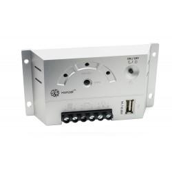 Controlador de carga y descarga solar 5A 12V USB iSCC-AU XUNZEL