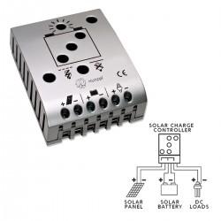 Controlador de carga y descarga solar 20A 12/24V iSCC-L XUNZEL