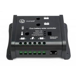 Controlador de carga solar dual programable 10A 12/24V iSCC-DUO-PRO XUNZEL