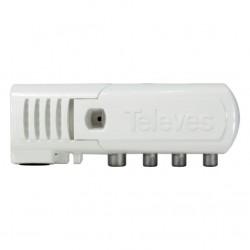 "Amplificador de vivienda ""CEI"" 3 salidas (2+TV): VHF/UHF - LTE790 Ready Ref.: 552840"