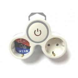 Adaptador schuko tipo 3x16A CLK