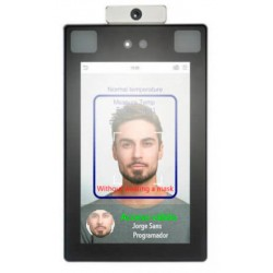 Cámara Termográfica -control de acceso facial con detección de temperatura-