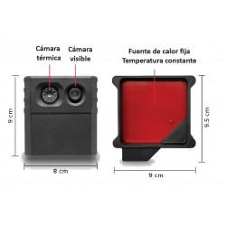 Cámara termográfica con Seek Scan ™