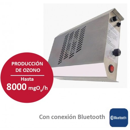Generador de ozono comercial y doméstico para tratamiento de ambiente con personas